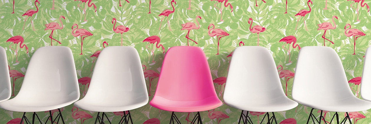 «Club Tropicana» Wallpaper Collection