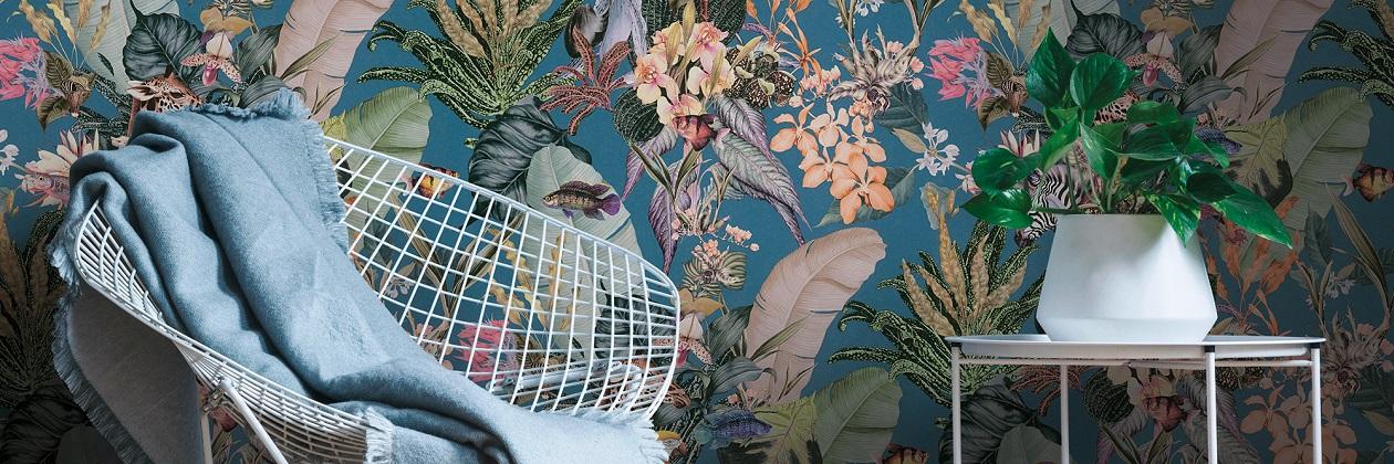 Tapetenkollektion «Dream Flowery»
