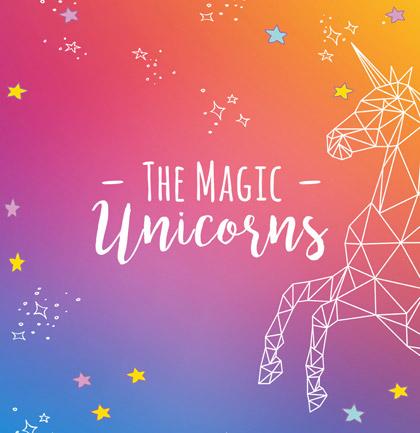 Коллекция обоев «The Magic Unicorns»