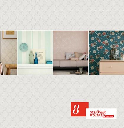 wallpaper collection sch ner wohnen 8 by sch ner wohnen. Black Bedroom Furniture Sets. Home Design Ideas