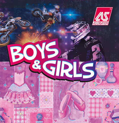 «Boys and Girls 5» Wallpaper Collection