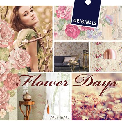 Коллекция обоев «Flower Days»