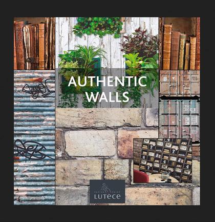 Collection de papiers peints «Authentic Walls»