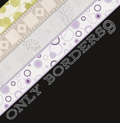 Collection de papiers peints «Only Borders 9»
