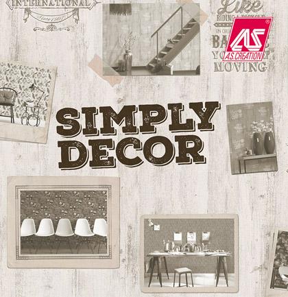 «Simply Decor» Wallpaper Collection