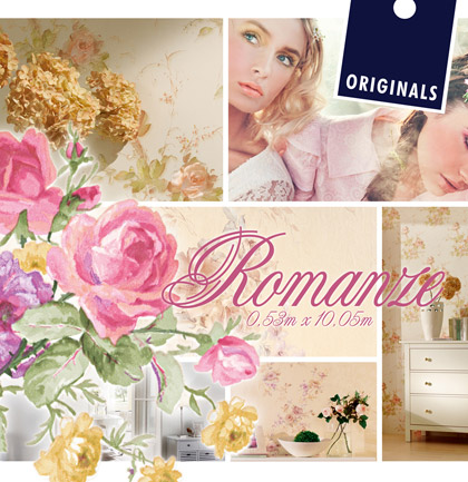 «Romanze» Wallpaper Collection