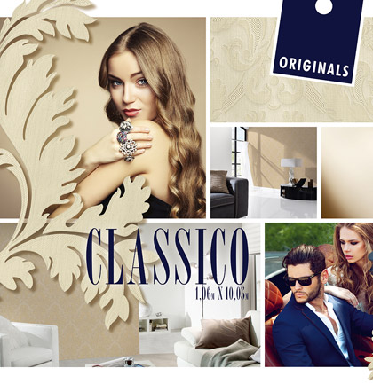 Collection de papiers peints «Classico»