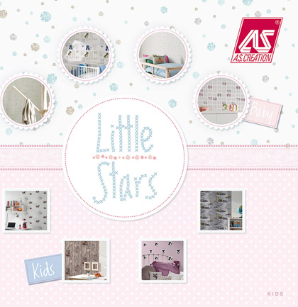 «Little Stars» Wallpaper Collection