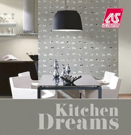 «Kitchen Dreams» Wallpaper Collection
