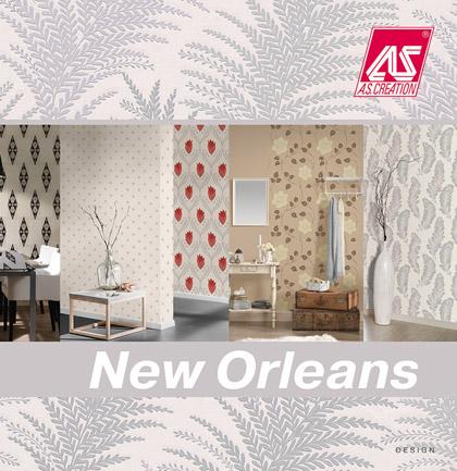 collection de papiers peints new orleans de a s cr ation. Black Bedroom Furniture Sets. Home Design Ideas