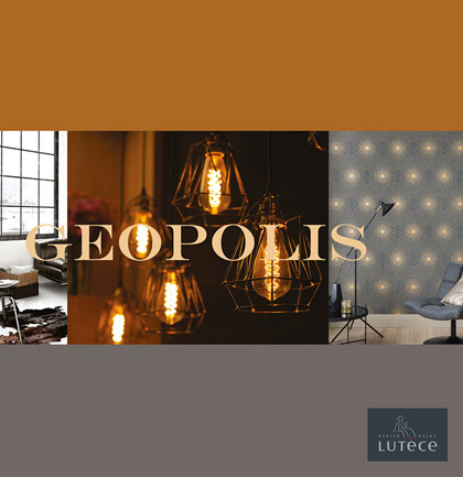 «Geopolis» Wallpaper Collection