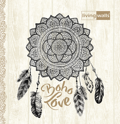 Tapetenkollektion «Boho Love»