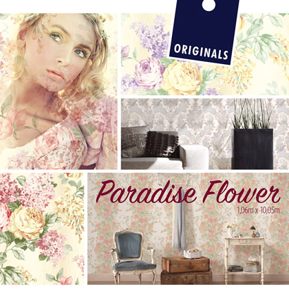 «Paradise Flower» Wallpaper Collection
