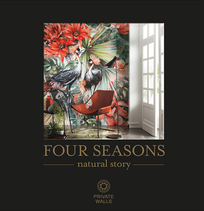 Collection de papiers peints «Four Seasons»