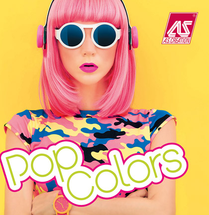 Collection de papiers peints «Pop Colors»