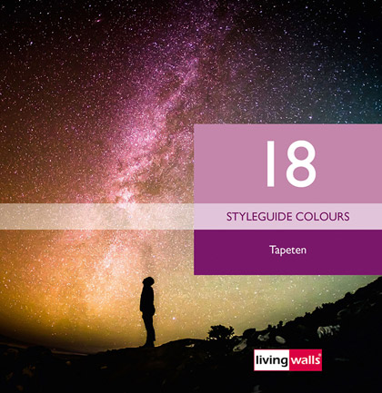Collection de papiers peints «Styleguide Colours 18»