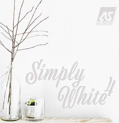 «Simply White 4» Wallpaper Collection