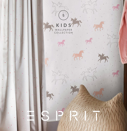 d3cc9cc07 Wallpaper Collection «ESPRIT Kids 5» by «Esprit Home»