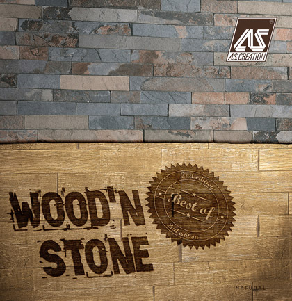 «Best of Wood&Stone 2» Wallpaper Collection
