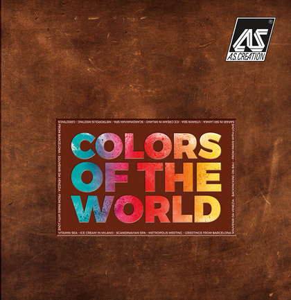Коллекция обоев «Colors of the World»