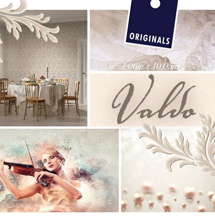 Коллекция обоев «Valdo»