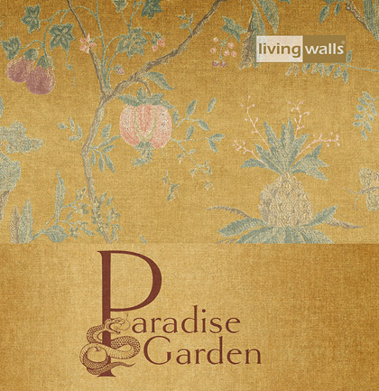 «Paradise Garden» Wallpaper Collection