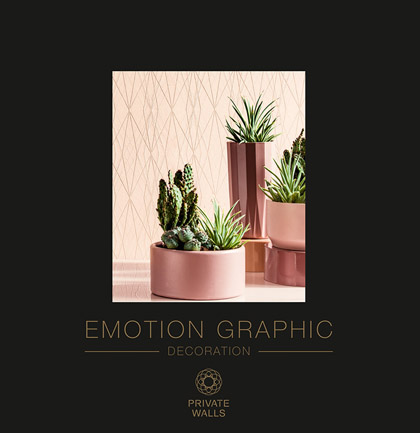 Collection de papiers peints «Emotion Graphic»
