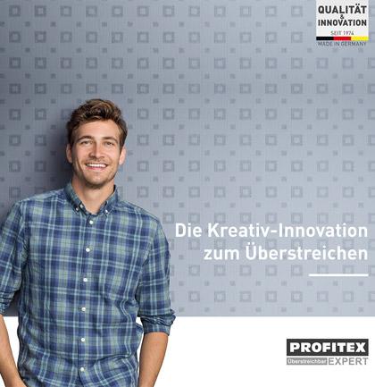 Коллекция обоев «Profitex Überstreichbar»