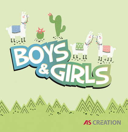 «Boys and Girls 6» Wallpaper Collection