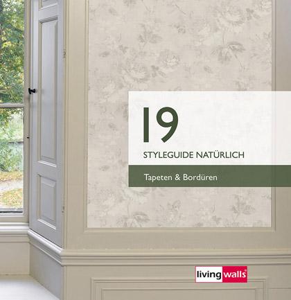 Collection de papiers peints «Styleguide Natuerlich 2019»