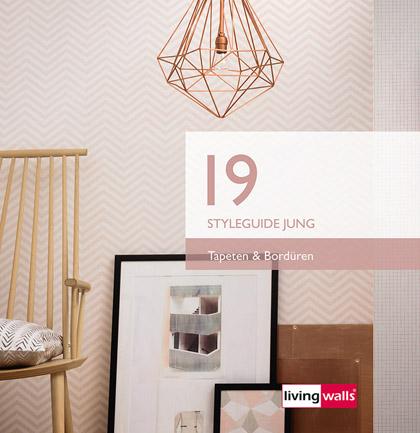 Collection de papiers peints «Styleguide Jung 2019»