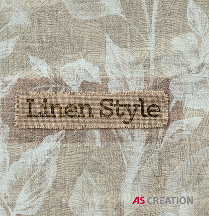 «Linen Style» Wallpaper Collection