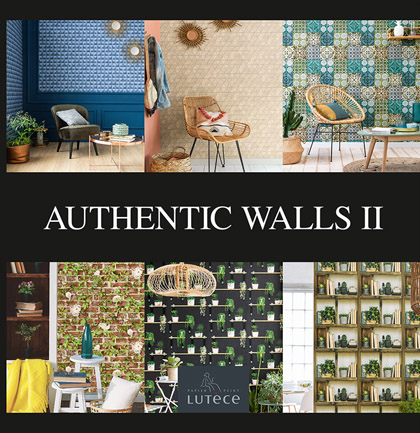 Collection de papiers peints «Authentic Walls 2»