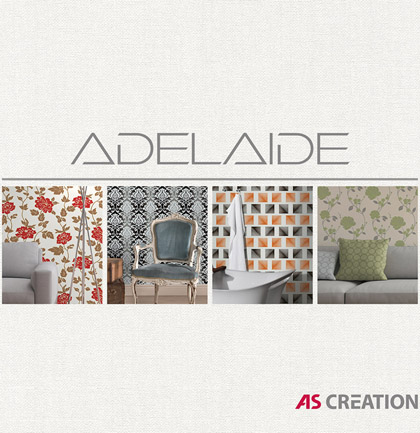 Collection de papiers peints «Adelaide»