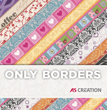 Tapetenkollektion «Only Borders 10»