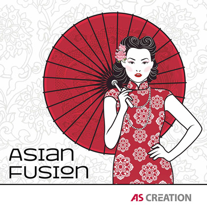 «Asian Fusion» Wallpaper Collection