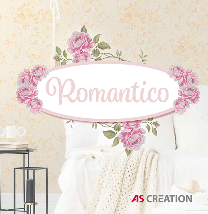 Collection de papiers peints «Romantico»