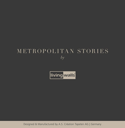 Collection de papiers peints «Metropolitan Stories»