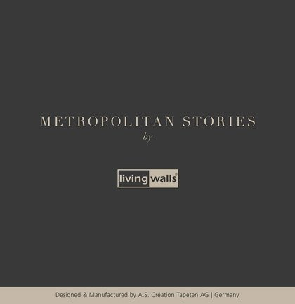 «Metropolitan Stories» Wallpaper Collection