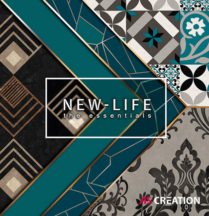 Tapetenkollektion «New Life»