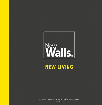 Collection de papiers peints «New Walls.»
