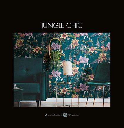Tapetenkollektion «Jungle Chic»