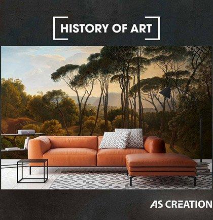 Tapetenkollektion «History of Art»