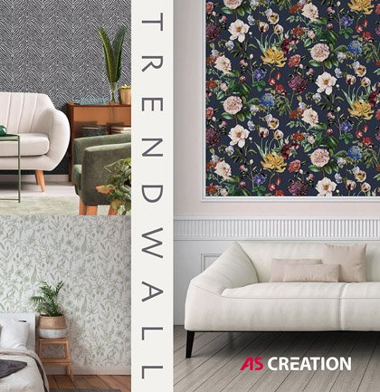 Collection de papiers peints «Trendwall»