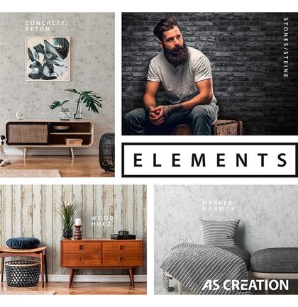 Коллекция обоев «Elements»
